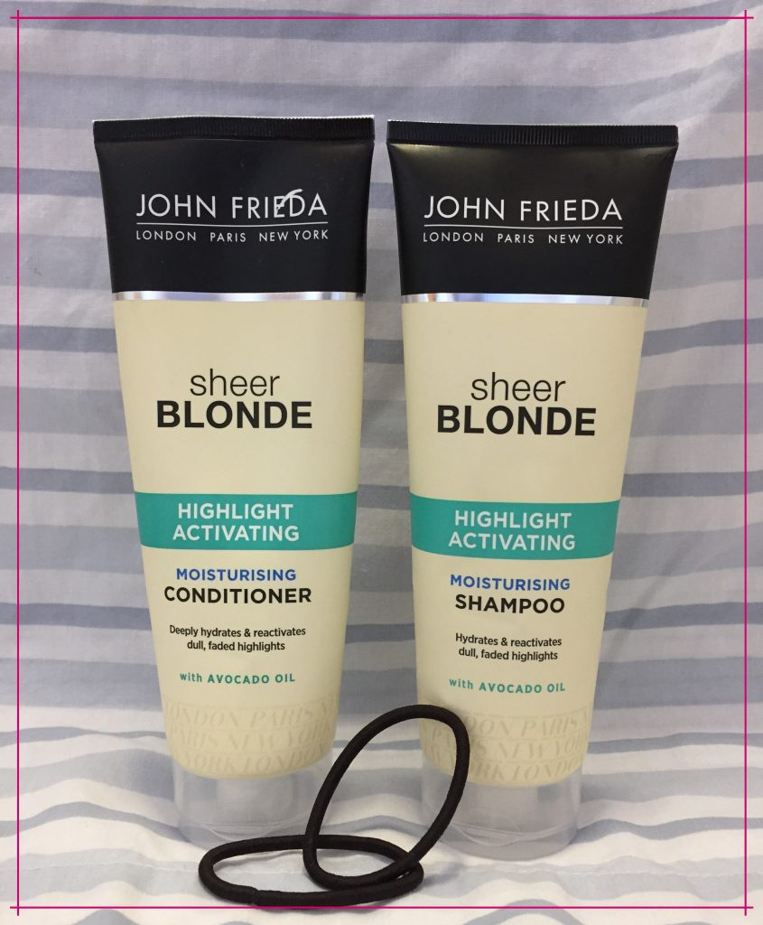 Shampoo and Conditioner I Am Currently Using