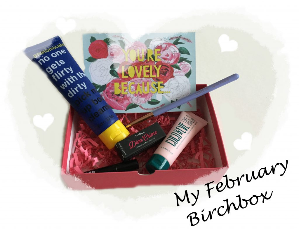 What's In My February Birchbox?