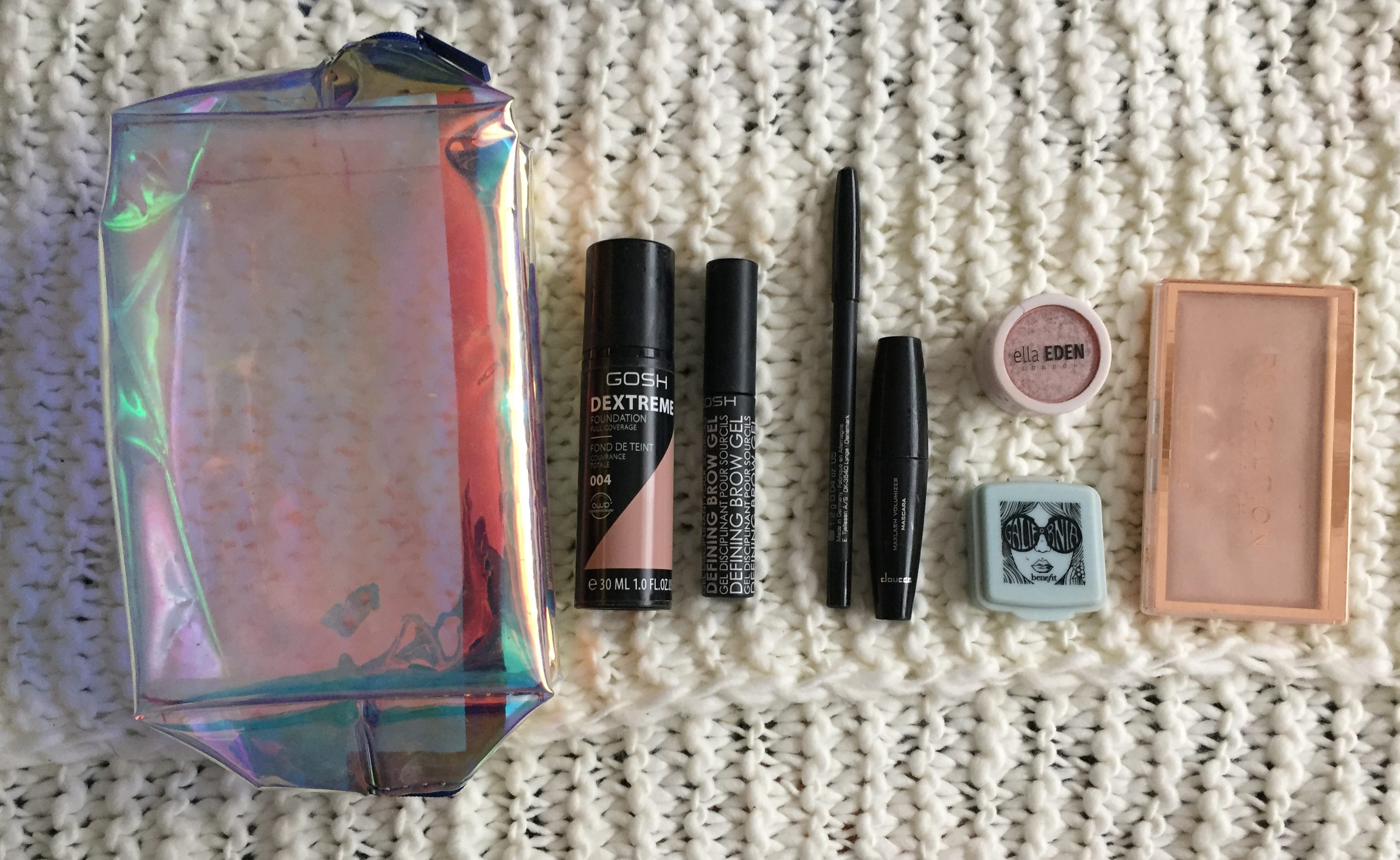 What's In My Makeup Bag RN.