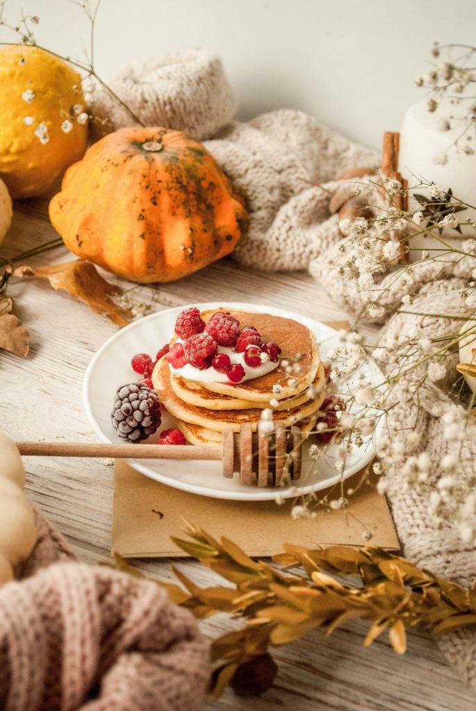 Recipe: Fluffy Pumpkin Spiced Pancakes