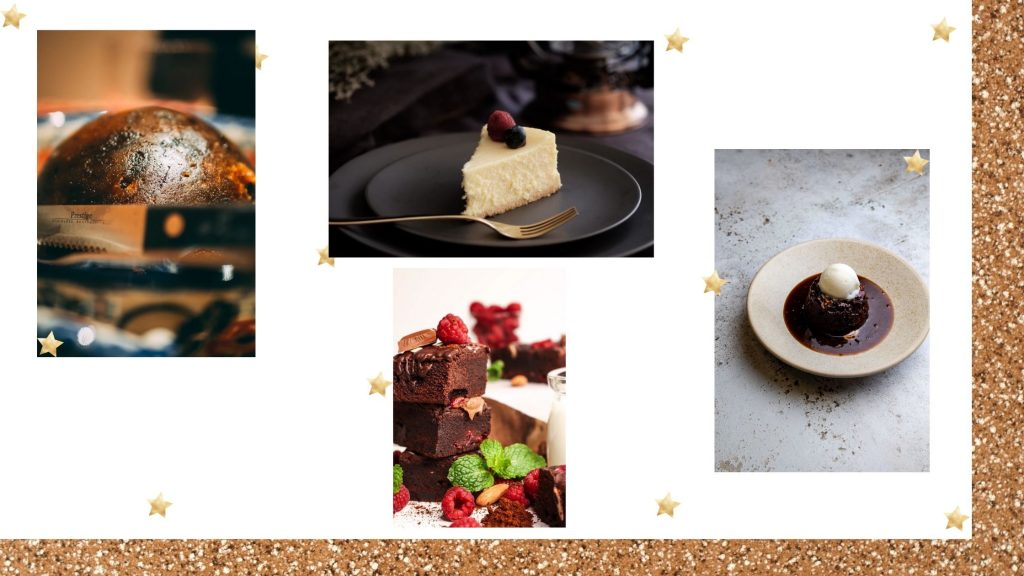 4 Desserts To Inspire Your Christmas Day Pudding.